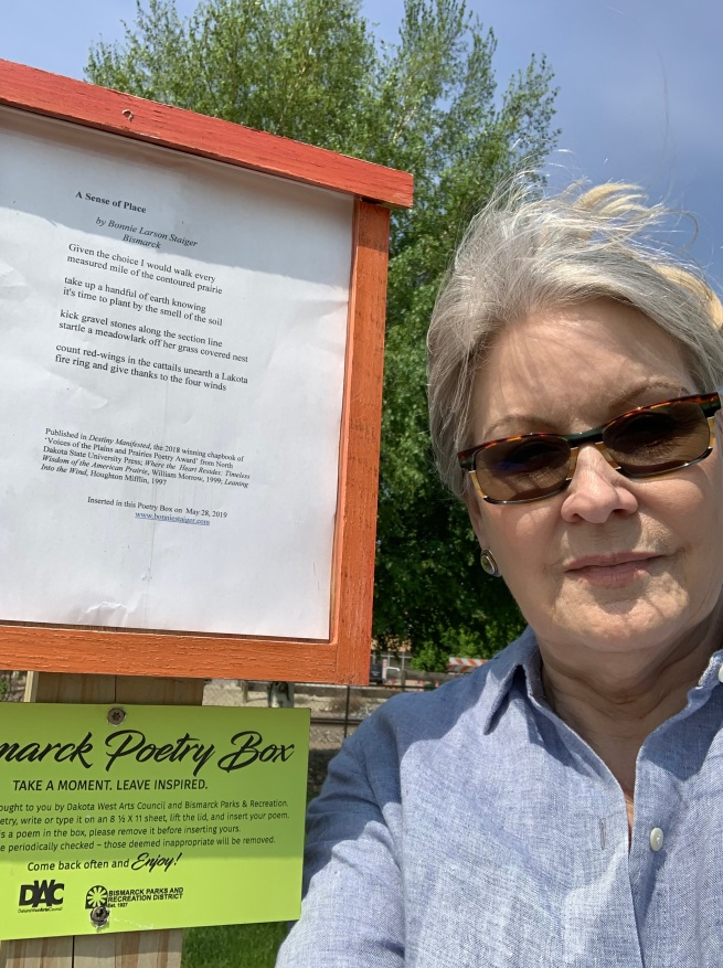 Poetry Boxes in Bismarck Parks (Qty 11) Summer 2019